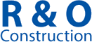 R&O Construction logo, blue