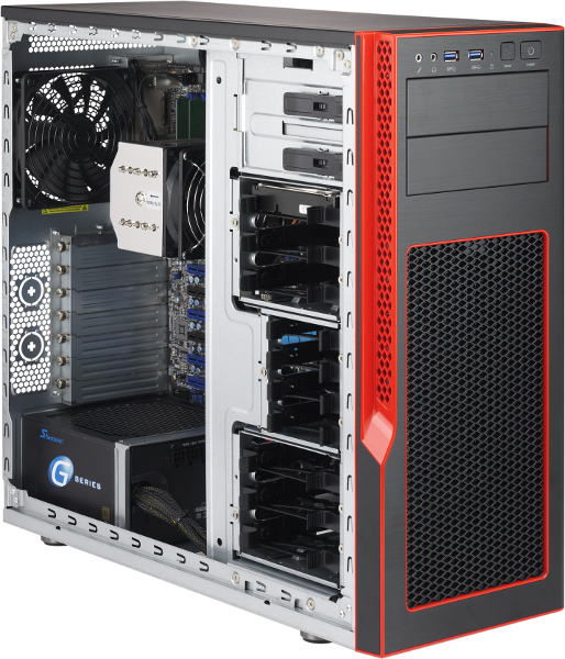 Arcbrain Zephineon Mid Tower Chassis for ATX
