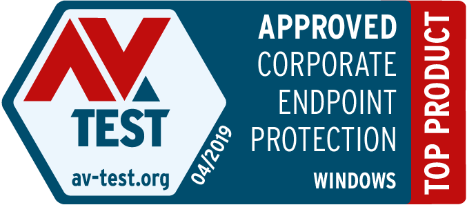 AV-TEST 04/2019 APPROVED CORPORATE ENDPOINT PROTECTION WINDOWS [TOP PRODUCT] - Avast Business Antivirus Pro Plus